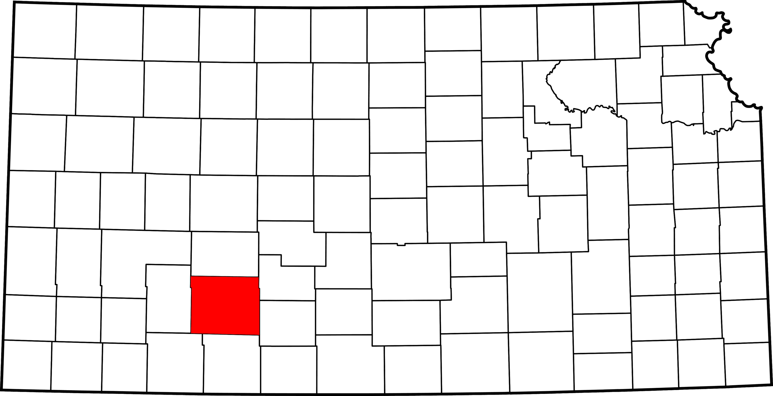Ford County, KS Map